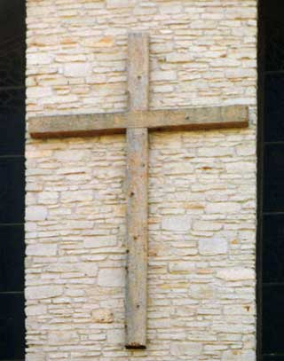 Rough Hewn Cedar Cross