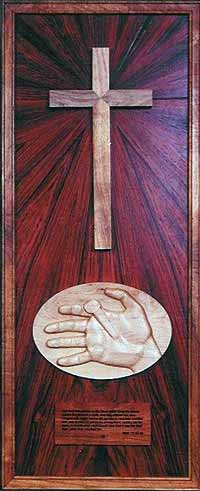 Station 10: Christ is nailed to the cross
