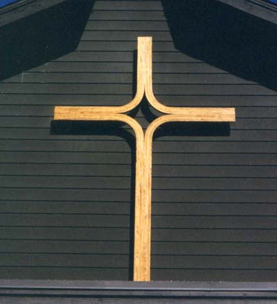 Bentwood Cross