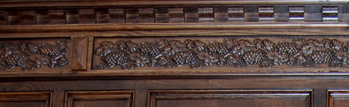 Grape Frieze Carving