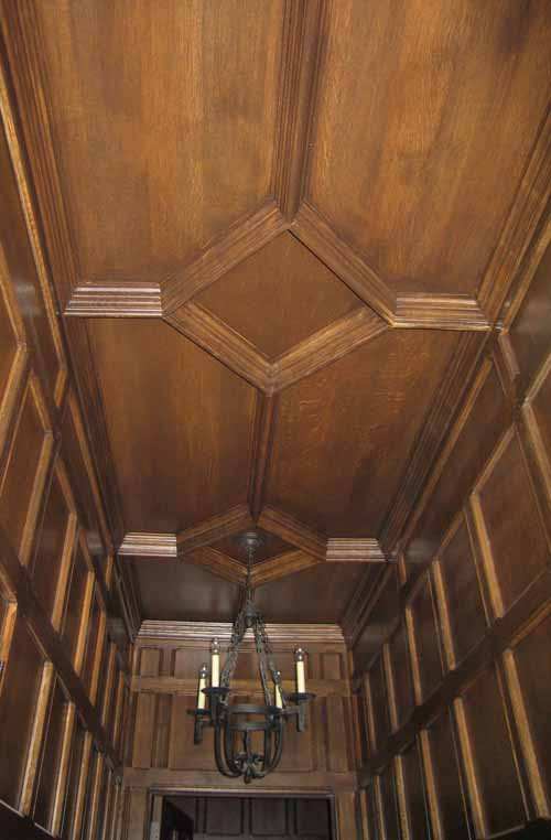 Ribbed Ceiling Moulding