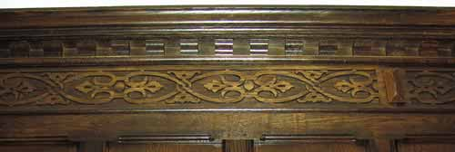 Tudor Style Frieze Carving #1