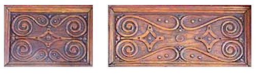 Tudor Style Frieze Carving No. 2