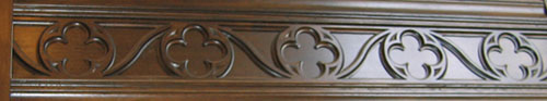 Gothic Style Frieze Carving No. 2