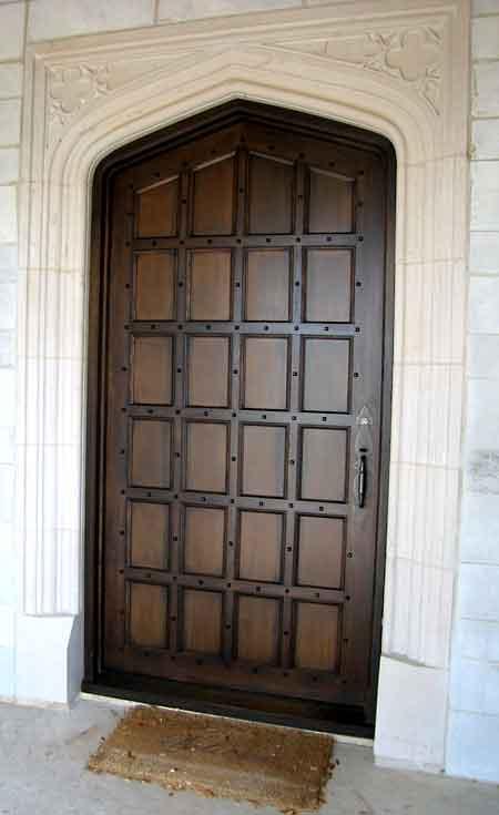 Exterior Tudor Door