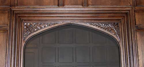 Wide Tudor Doorway