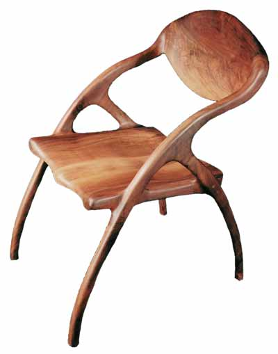Sculpted Chair